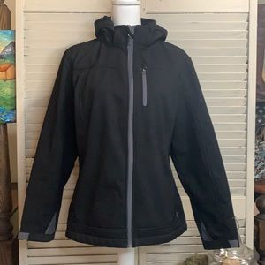Free Country Sherpa Lined Hoodie Jacket